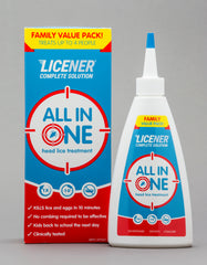 Licener Single Treatment Family Pack 200ml Bottle with gloves
