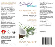 Tangled Hair Care Detangling Spray