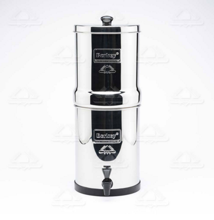 Système de Filtration d'Eau Travel Berkey (version réduite du Big Berkey)