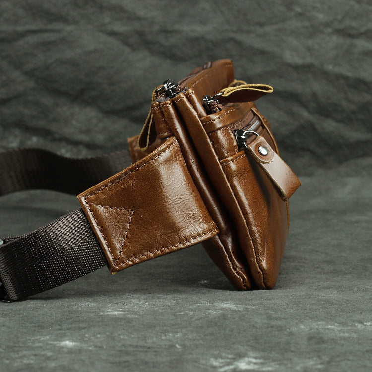 LUDNK219 Waist Bag / Bum Bag Brown