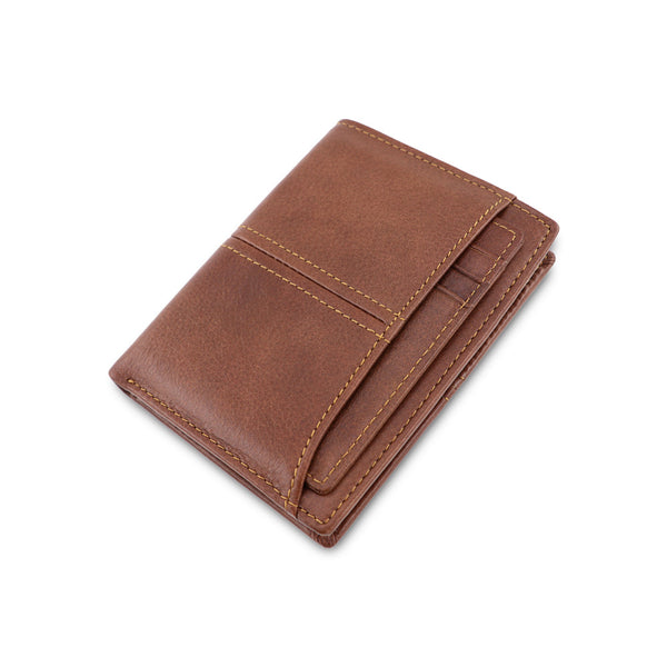 AD1059 Wallet leather RFID protected Brown