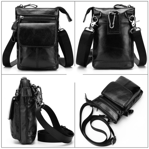AD7165 Shoulder or Belt Bag Black