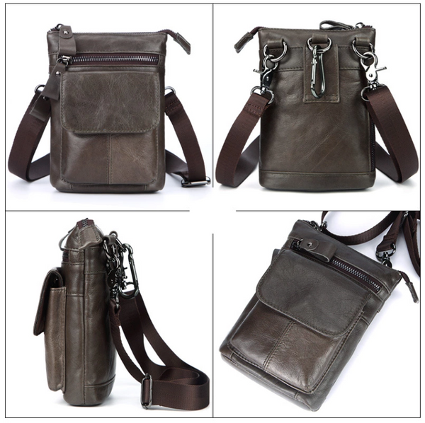 AD7165 Shoulder or Belt Bag Grey