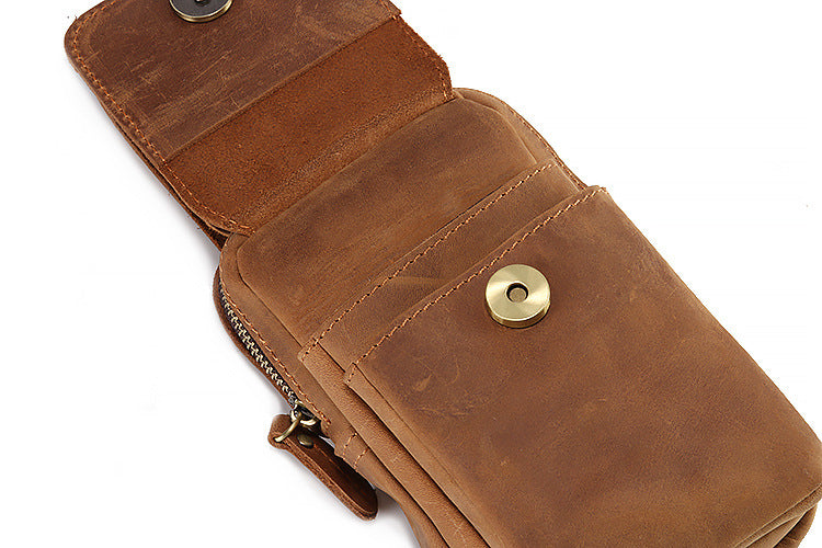AD3135 Belt Bag - Phone Case Brown