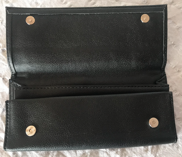 Hornet Leather Tobacco Pouch Black
