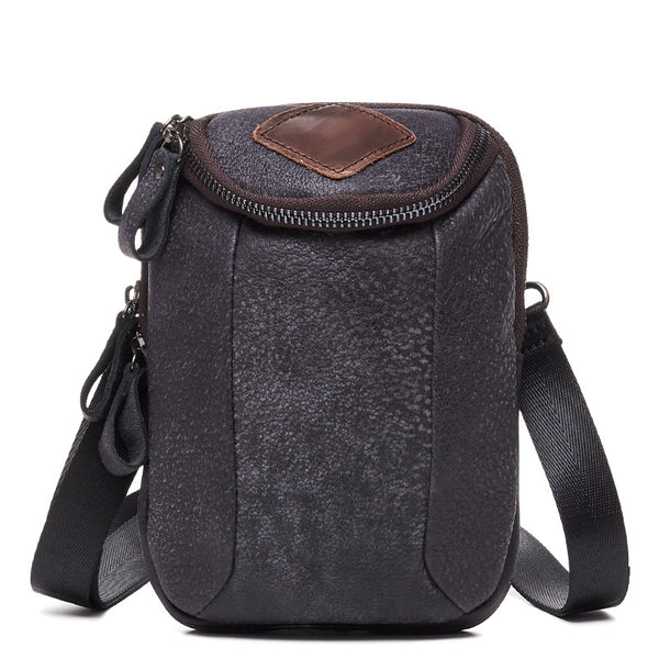 6331 Half-round Shoulder or Belt Bag Matte Black