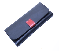 Glasses Case Leather Black