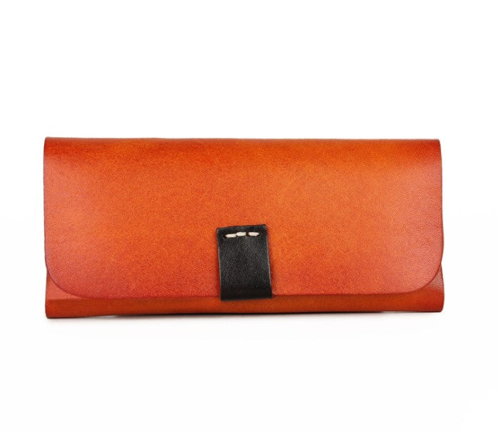 Glasses Case Leather Brown