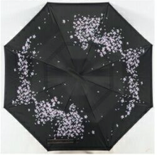 Cherry Blossom Inverted Umbrella Manual Open & Close