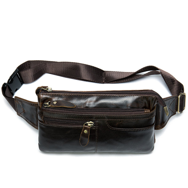 8943 Waist Bag / Bum Bag Oil Coffee