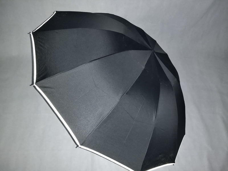 Black COMPACT Inverted Umbrella AUTO Open / AUTO Close