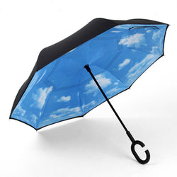 Blue Sky Inverted Umbrella
