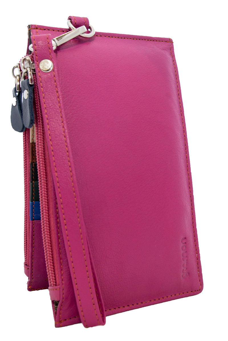 Plum Gramon Ladies' Leather RFID Wallet