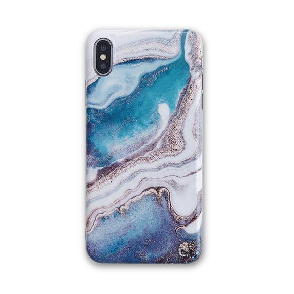 Blue Ink Gradient Case