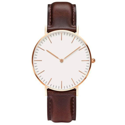 Luxury Rose Gold Men's Watch