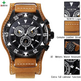 NORTH Luxury Leather Quartz Watches