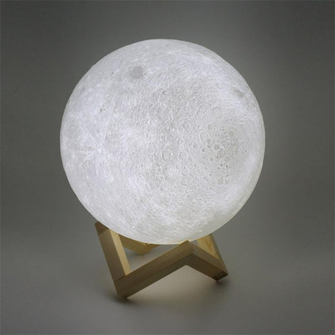 Image of Moon Style Light Desk Decoration