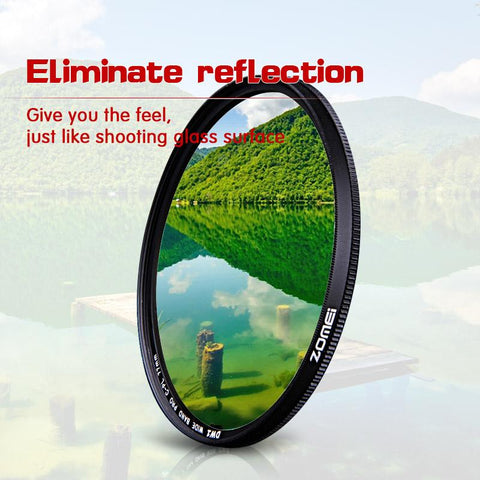 Image of ZOMEI SLIM FRAME - THE CIRCULAR POLARIZING FILTER