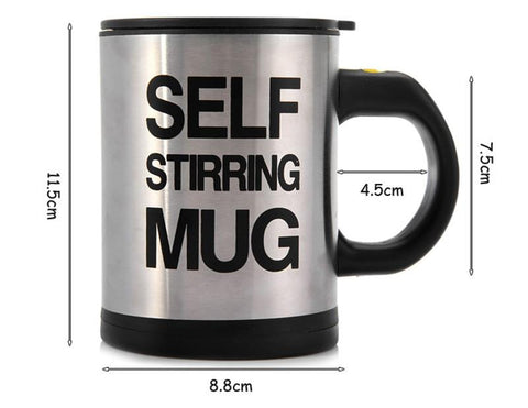 Image of Self Stirring Insulated Mug
