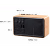 Mini Cube LED Wooden Alarm Clock