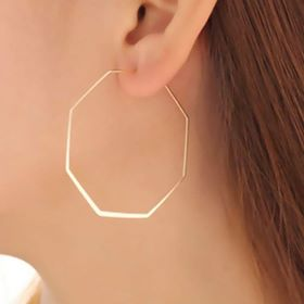Get Gone Polygon Earrings