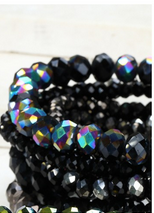 Jewel Toned Stacker Bracelets