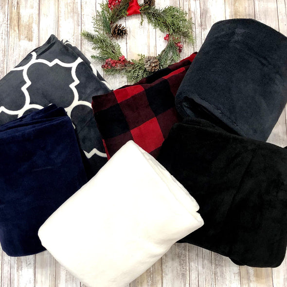 Fleece Ultra Plush Cozy Up Blanket