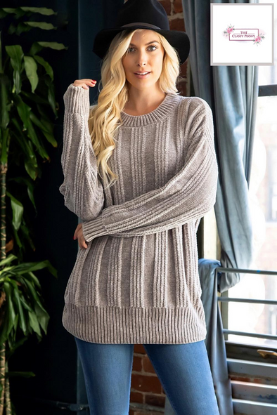 Soft Chenille Sweater
