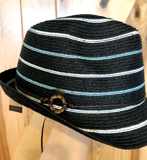 Striped Fedora