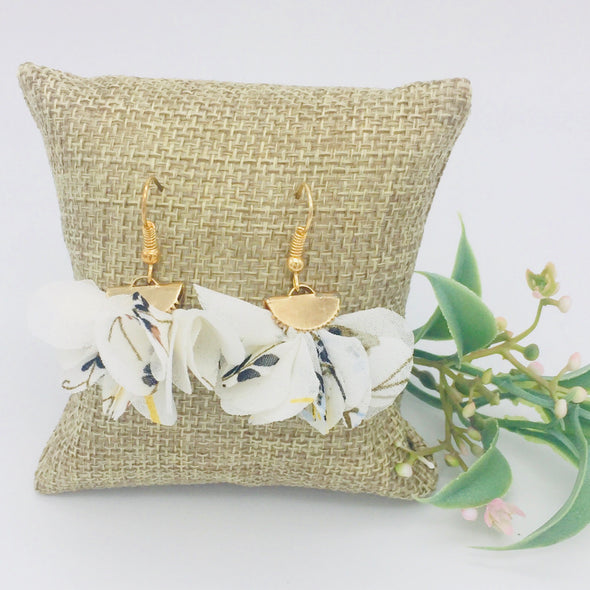 Sweet Fabric Earrings