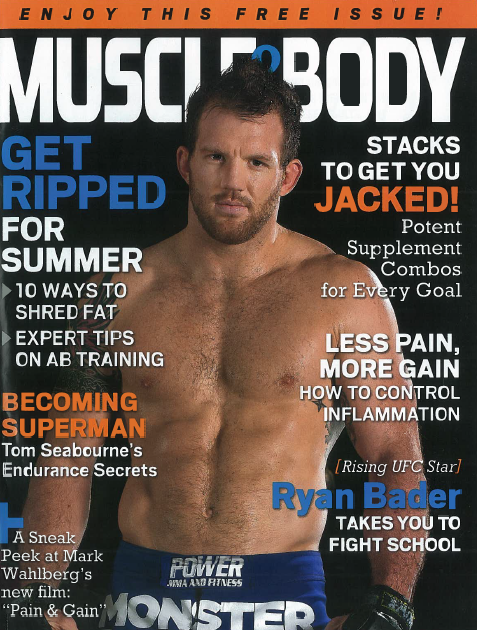 Muscle and Body April 2013