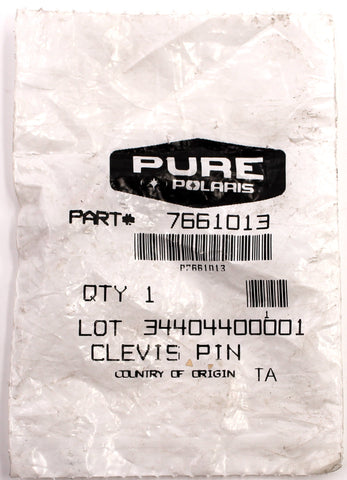 Genuine Polaris Clevis Pin PN 7661013