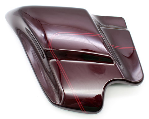 Genuine Harley-Davidson Left Fairing Cover (Black Cherry) PN 66619-05BPR