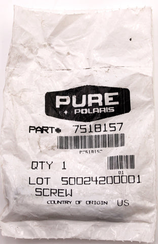 Genuine Polaris Screw PN 7518157