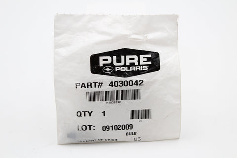 Genuine Polaris Indicator Dash Bulb PN 4030042