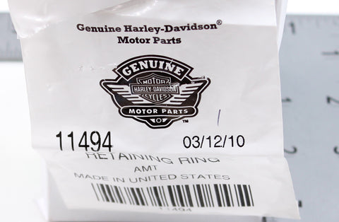 Genuine Harley-Davidson Retaining Ring PN 11494
