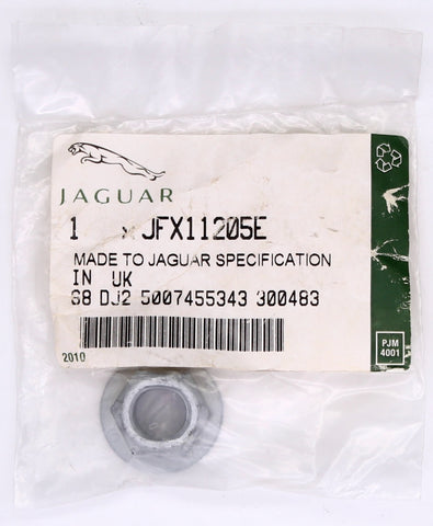 Genuine Jaguar Locking Nut PN JFX11205E