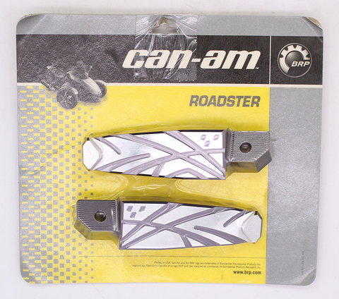 Can-Am Billet Passenger Footpegs, Rear PN 219400122