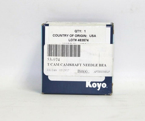 Koyo Camshaft Needle Bearing For Twin Cam Motors PN 53-974