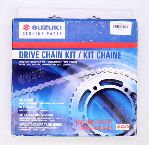 Genuine Suzuki Drive Chain Kit PN 27000-20840