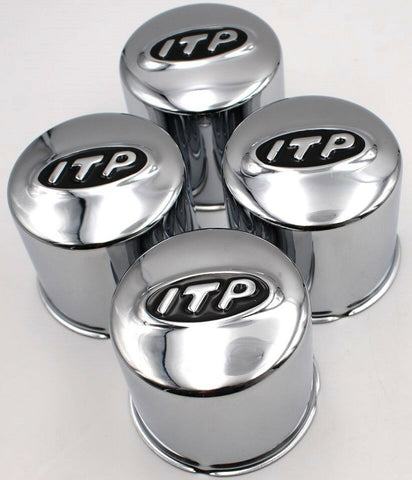Industrial Tire Products Chrome Logo Cap PN SM1212BX (QTY 4)