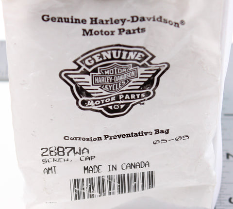 Genuine Harley-Davidson Cap Screw PN 2887WA