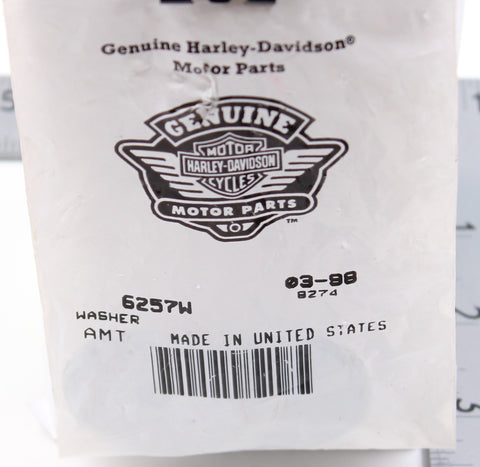 Genuine Harley-Davidson Washer PN 6257W