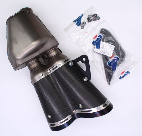 Ducati Homologated Carbon Silencer PN 96410411A