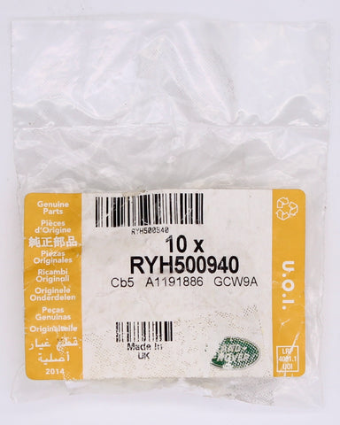 Land Rover Plastic Nut (Pack Of 10) PN RYH500940