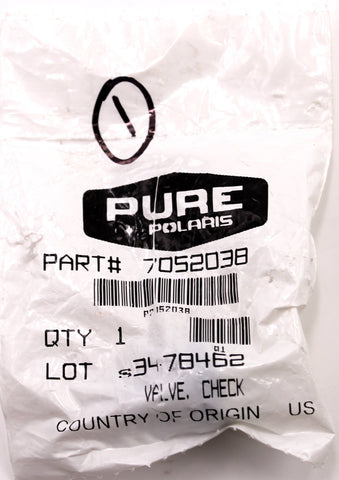 Genuine Polaris Check Valve PN 7052038