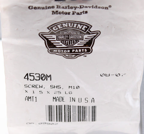 Genuine Harley-Davidson Screw PN 4530M
