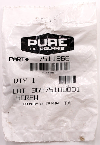 Genuine Polaris Screw (Pack of 3) PN 7511866