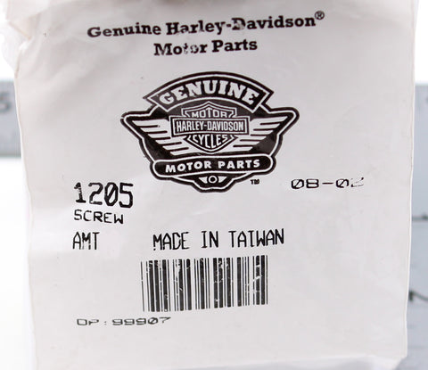 Genuine Harley-Davidson Screw  (Pack of 8) PN 1205