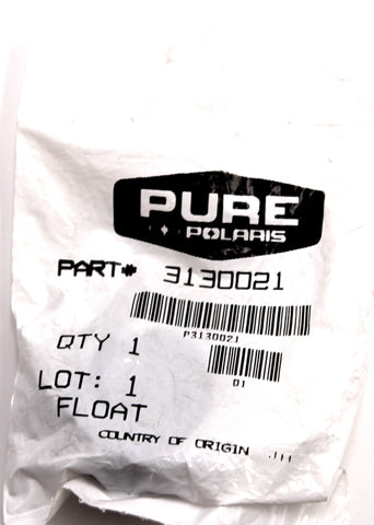 Genuine Polaris Float PN 3130021